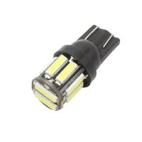 T10 10-SMD 7020 LED W5W Cômoda Replacement Reverse White Blue Bulb para Clearance Light DC 12V Lamp