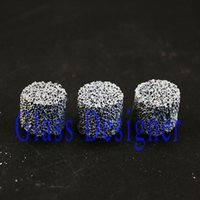 Wholesale Healthy Hands - Smoking Healthy Fliter Screen Smoking Screen Smoking Ceramic Screen Healty Stone For Smoking Bowl Hand Pipe DIA14.5*12MM 25PCS LOT