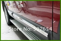 Wholesale stainless steel decorative strips for sale - Group buy High quality stainless steel Side Door trim door decorative strip door protection bar for Nissan QASHQAI
