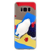 Wholesale super cute iphone cases - Super Cute creativity decompression phone shell for iPhone6 7plus soft three-dimensional cartoon seal lovely personality woman