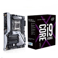 Wholesale Intel Motherboard Cpu Desktop - Original Ten core Intel Core i9 7900X Deca-core LGA2066 CPU + ASUS Prime X299 DELUXE Motherboard Supported M.2 interface For Set