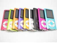 "Wholesale Mp4 Dhl 16gb - Cheap Real Capacity 16GB Slim 1.8"" 4th LCD MP3 MP4 Player FM Radio Video Multi Colors DHL Free"