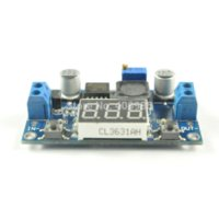 Wholesale Electronic Regulator - 5pcs lot DC-DC Adjustable Power Supply Module LM2596 Voltage Regulator Module with Strap Calibration FZ0783 Other Electronic Components