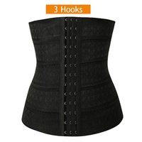 Wholesale Wholesale Tummy Shaper Corset - Wholesale-Hot Sexy Women Slimming Body Waist Shaper Tummy Trimmer Breathable Waist Trainer Girdle Cincher Shaper Corset S-3XL