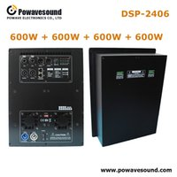 DSP-2406 Powavesound professionale classe d amplificatore audio board 600w 4 way amplificatore a piastra subwoofer ADI USA