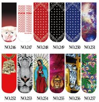 Wholesale Slipper Socks For Girls - Casual Women Fashion Low Cut Ankle Socks Cotton 3D Printed Lady Girls Soft Cartoon Slippers Sock Cosplay costume 467 Patterns for chose gift