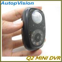 Wholesale Dvr Q2 - Q2 mini PIR camera. Home cecurity Recorder. MINI DVR with CE ROhs Certificate.