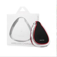 Wholesale Qi 5v - 2016 New Luxury Qi Wireless Charger Genuine Charging 5V 1A PAD for Samsung Galaxy S6 S6 Edge