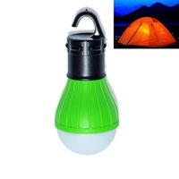Wholesale Portable outdoor Hanging LED Camping Lantern lm Soft Light LED Camp Lights Bulb Lamp For Camping Tent Fishing