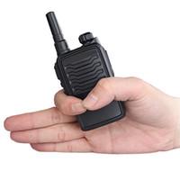 Wholesale Mini Scanner Handheld - Utility model walkie talkie radio scanner 3RB uhf super mini ham radio waterproof dustproof handheld two way radios cb radio Motorola icom h