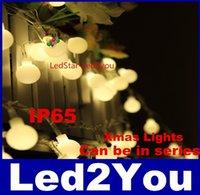 Wholesale String Led Lights Outdoor Wedding - Led String Light 10M 100led ball AC 110V   AC 220V Wedding Party Decoration waterproof IP65 outdoor christmas tree String Light