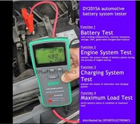 Wholesale hyundai digital - DY2015A 12V 24V Digital Automotive Car Battery Load Tester Analyzer CCA