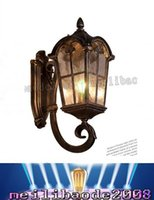 Wholesale Outdoor Balcony Wall Lamp - 2016 new European outdoor waterproof wall Les Loges Du Park Hotel balcony door courtyard wall lamp wall lamp in ancient Rome LLFA