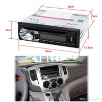 Auto-MP3-Player-In-Schlag FM Aux Auto Stereo-Audio-Player DVD / CD / MP4 / WMA-Radio-Empfänger USB-SD-Slot Anti-Shock Digital Clock Display-