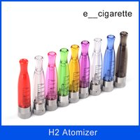 Wholesale Ego Stylish - gs H2 Stylish Ming Atomizer Clearomizer Cartomizer For eGo Series Healthy electronic cigarette atomizer E Cigarette H2 atomizer ego EVOD