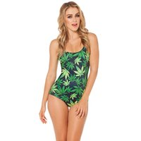 Wholesale Trendy Jumpsuits - High quality cheap print swimsuit fashion 3D sublimation printed one piece swimwear women jumpsuit new trendy swimwear sport suit