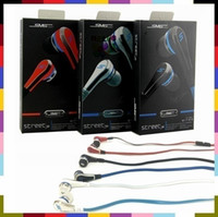 Wholesale Sms Audio Wireless Street - SMS Audio Street mini 50 Cent Earphones Earbuds In-Ear Headphone Headset with mic and mute button earphone 3 color
