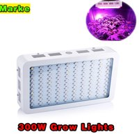 Wholesale Led Panel Grow Red - 300W 600w grow panel 9 Band Full Spectrum LED Grow Lights Red Blue White UV IR Led Plant Growing Lighting Lamps AC85~265V