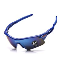 Wholesale 2016 Cycling Glasses UV400 Outdoor Sports Windproof Eyewear Mountain Bike Bicycle Motorcycle Glasses Sunglasses for Men Women