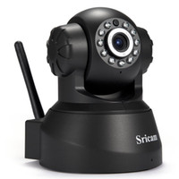 Wholesale Wireless Home Security Video Monitor - Newest Sricam SP012 IP Camera WIFI Onvif P2P Phone Remote 720P Home Security Baby Monitor 1.0MP Wireless Video Surveillance Cameras 1B
