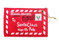 Wholesale cloth money for sale - Group buy Christmas envelope candy gift bags Creative christmas decoration products Christmas Money Card Holder Gift Card Box FP04