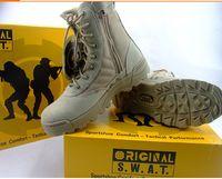swat stiefel wüste großhandel-Delta taktische Stiefel Military Desert SWAT amerikanischen Kampfstiefel Outdoor-Schuhe atmungsaktive tragbare Stiefel Wandern EUR Größe 39-45
