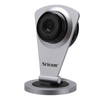 Sricam Home Smart IP Camera WIFI HD Carte SD SD Slot 128G Caméra IP sans fil 720P Onvif P2P pour Android iOS PC Mini Baby Monitor