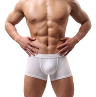 Wholesale Wholesale Mens Fashion Underwear - Wholesale-JECKSION New Sexy Men Underwear 2016 Fashion Mens Boxer Shorts Bulge Pouch Soft Underpants Y02