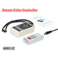 DC12V 6803IC LED Controller RF Télécommande sans fil pour 5050 Magic Dream couleur RVB LED bande