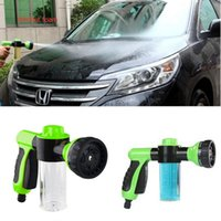 Wholesale Portable Car Washer Pressure - Multifunction Auto Car Foam Water Gun Car Washer Water portable high pressure Car Wash Water Foam Hot New