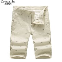 Wholesale Korea Style Short Pants - Wholesale-New Arrival Short Men: Fashion Casual Cool Cotton Half Pants For Summer With Six Colors to Choose Korea Style Male Beach Pants