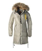 Wholesale Ladies Bear Coat - 2017 classical Woman Longer Bearing parka coat Wineter Jacket lady jacket with big fur