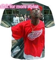 Wholesale Biggie Shirt Women - New Fashion Couples Men Women Tupac 2pac and Biggie 3D Print No Cap Casual T-Shirts Tee Tops Wholesale S-5XL T35