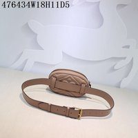 Wholesale Fashionable Mobile Phones - High quality 5 color women's waist bags 100% genuine leather handbag fashionable heart mobile phone bag