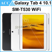Wholesale tab pc for sale - Group buy Refurbished Original Samsung Galaxy Tab SM T530 T530 inch Wifi GB ROM Quad Core MP Camera Android Tablet PC Black and White