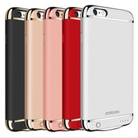 Wholesale Iphone Red Battery Case - For Iphone 7 JOYROOM External Backup Battery Charger Case Power Case For iphone 7 7plus 6 6plus
