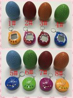 Wholesale Toy Electronic Pets - New Retro Game Toys Pets In One Funny Toys Vintage Virtual Pet Cyber Toy Tamagotchi Digital Pet Child Game Kids DHL Free Shipping