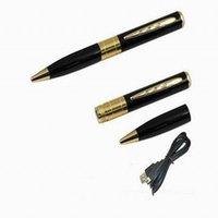 Wholesale Spy Usb Drive Video - Best sale Mini Pen cameras HD 960P Digital Video recorder USB Flash Drive PC Webcam Spy Hidden Camera Mini DVR Free Shipping