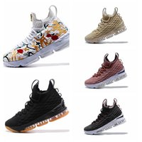 Wholesale Basketball Player Shoes - Dazzling Drop Shipping Famous Players LB 15 James XV EP 15S tn 15 Mens Sports Basketball Shoes Sneaker Shoes Size 40-46