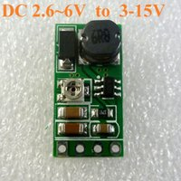 Wholesale dc boost - DD06AJSB DC 3.3V 3.7V 5V to 6V 9V 12V Adjustable Step-Up Boost Voltage Regulator Power supply Module