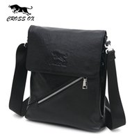 Wholesale Shoulder Bags For Tablets - Wholesale-CROSS OX Men's Genuine Leather Casual Fashion Shoulder Bag For Men Crossbody Bags Messenger Bag Tablet Holder Business SL353M