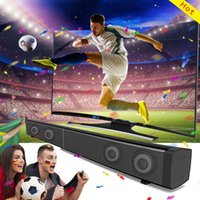Wholesale Tv Speakers Remote Control - Soundbar LP-09 Bluetooth Speaker 2.0 Channel Wired and Wireless Bluetooth TV Soundbar Audio 31.5 Inch 40W Built-In Subwoofer Remote Control
