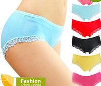 Wholesale Ladies Panties Types - Wholesale-Women's Lace Panties Sexy Underpants Bamboo Briefs Fiber Nice Ladies Underwear Women Lingerie Lace Panties for Women NK1003