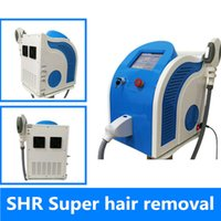 Wholesale Hair Removal Spa Machine - Portable SHR IPL laser hair removal machine Most Popular SHR IPL laer hair removal machine spa equipment