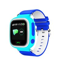 Wholesale mobile baby monitor - Q90 1.22'' Touch Screen Smart Watch GPS Baby Watch SIM Intelligent Mobile Phone Watch With WiFi SOS Anti-Lost Monitor for Child Kid