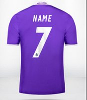 Wholesale Soccer Team Numbers - 16-17 Club Team Customized Thai Quality Soccer Jerseys,Create your soccer jersey with your Name and number . Personalise soccer jerseys