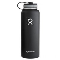 Wholesale Drinking Caps - 2017 New Arrival 1:1 32oz 40oz Water Bottle Hydro Flask cups Vacuum With Flat Cap Stainless Steel Wide Mouth Bottles