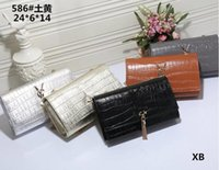 Wholesale Vintage Pearl Bag - ys l crossbody shoulder bags embroidery bag pearl buckle flap messenger bags vintage luxury brands chain bag designer ys handbags 2018