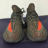Wholesale new kanye west men s shoes Boost Season Orang Stripe running shoes boost Sneakers Sports Shoes