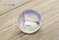 Wholesale Children Safety Products - Baby Toddler Safety Products Children child-proof corner protector domestic protective angle with double-sided tape 99pt